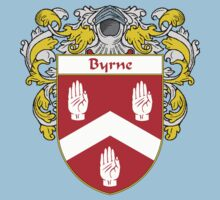 Byrne Coat of Arms/Family Crest Kids Clothes