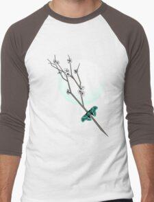 Cherry Blossom Men's Baseball ¾ T-Shirt