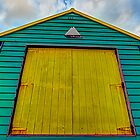 The beach hut by collpics