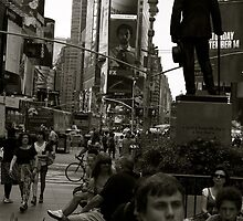 New York Times Square by graceloves