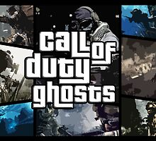 CoD: Ghosts and GTA V  by liamboor