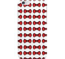 8bit Bow Pattern iPhone Case/Skin
