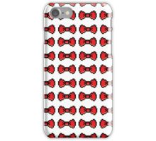 8bit Bow Pattern iPhone Case/Skin