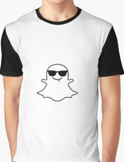 Snapchat Ghost Graphic T-Shirt