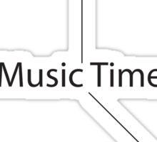 Music Time Sticker