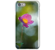 Tiny anemone flower iPhone Case/Skin