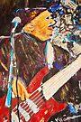 The Bass Player by Diane  Kramer
