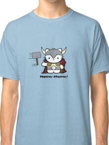 Meow Meow II Kitty Thor Classic T-Shirt