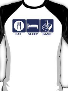 Eat Sleep Game Retro T-Shirt
