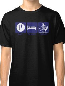 Eat Sleep Game Retro Classic T-Shirt