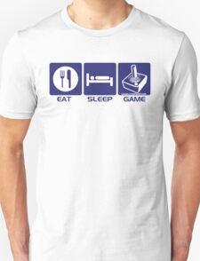 Eat Sleep Game Retro T-Shirt