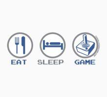 Eat Sleep Game by GeekGamer