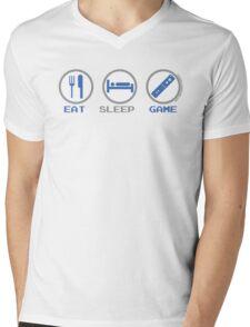 Eat Sleep Game Mens V-Neck T-Shirt