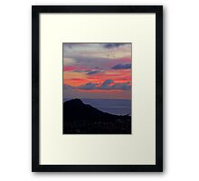 leahi ice cream Framed Print