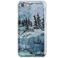 Light beyond the trees iPhone Case/Skin