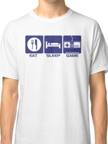 Eat Sleep Game Classic T-Shirt