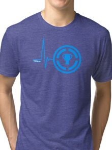Gamer Heart Beat Tri-blend T-Shirt
