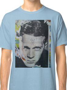 Steve McQueen Graffiti Wall - NYC Classic T-Shirt