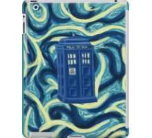 Tardis + Background iPad Case/Skin