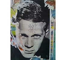 Steve McQueen Graffiti Wall - NYC Photographic Print
