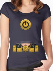 Super Geek Utility Belt Women's Fitted Scoop T-Shirt