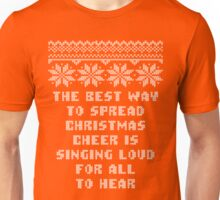 Buddy Elf Spread Christmas Cheer Holiday Ugly Sweater Unisex T-Shirt