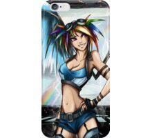 Rainbow Crash! iPhone Case/Skin