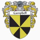 Campbell Coat of Arms/Family Crest by William Martin