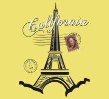 California, France Kids Tee