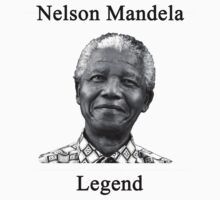 Nelson Mandela Legend by ClapperJack