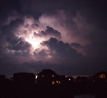 Lightning on the Sound 3 by KayZeg