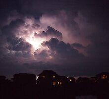 Lightning on the Sound 3 by KayZeg