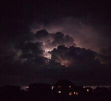 Lightning on the Sound 5 by KayZeg
