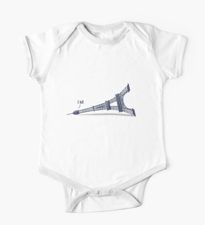 I Fell Tower Kids Clothes
