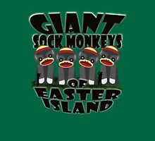 Giant Sock Monkeys of Easter Island Womens Fitted T-Shirt