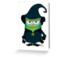 Wicked Minion Greeting Card