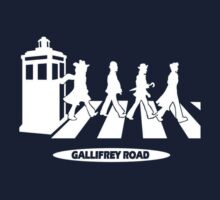 Dr. Who- Gallifrey Road by Rob DelZotto