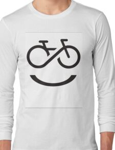 Forever Smiling while Riding Long Sleeve T-Shirt