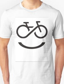 Forever Smiling while Riding Unisex T-Shirt