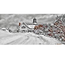 Cape Elizabeth Light Photographic Print