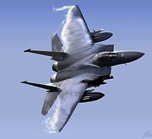 F-15 Eagle  by Wildi