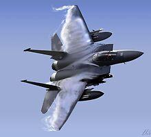 F-15 Eagle  by Wildi