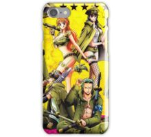 one piece military iPhone Case/Skin