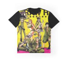 one piece military Graphic T-Shirt