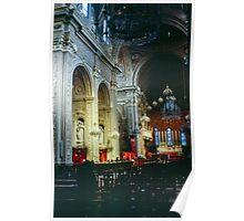 Nave Duomo Ferrara Italy 19840415 0084  Poster