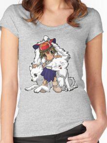 Princess Mononoke Women's Fitted Scoop T-Shirt