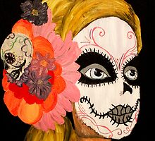Sugar Skull Barbie by AMorrisonART