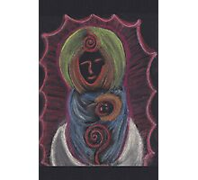 Goddess - Mary with child Photographic Print