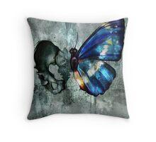 Bonefly Throw Pillow