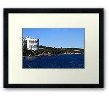 Harbourside Living Sydney Australia Framed Print